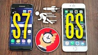 Samsung Galaxy S7 vs iPhone 6s - Speed Test Comparison