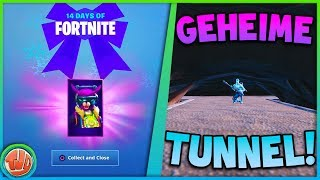 * NEW * SECRET TUNNEL DISCOVERED!! * FREE * GREAT GIFT!! -Fortnite: Battle Royale