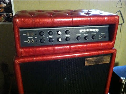 1969 Plush P-1000S 100W Tube Stack Service, Teardown & Demo
