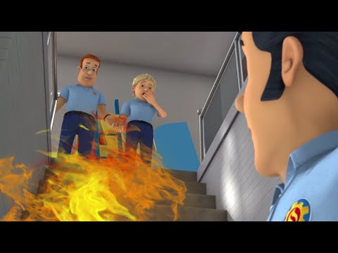 Fireman Sam US 🌟Clumsy Fire From Elvis! 🔥Fireman Sam Best Saves 🔥Cartoons For Kids