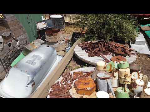 Quick Shed Tour of My Hoard of Australian Rubbish Tip Junk, Trash and Treasure Finds