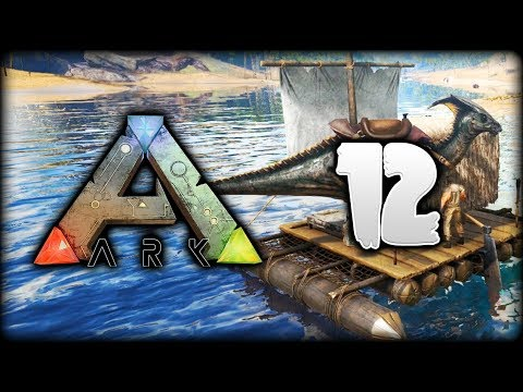 ARK Survival Evolved | Python's AMAZING New Boat Home! | ARK Gameplay/Let's Play [S1 - Episode 12]
