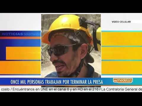 Trabajadores de la hidroeléctrica Ituango envían un mensaje de esperanza para superar la emergencia