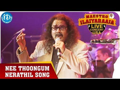Maestro Ilaiyaraaja Live Concert - Nee Thoongum Nerathil Song - Hariharan    San Jose, California