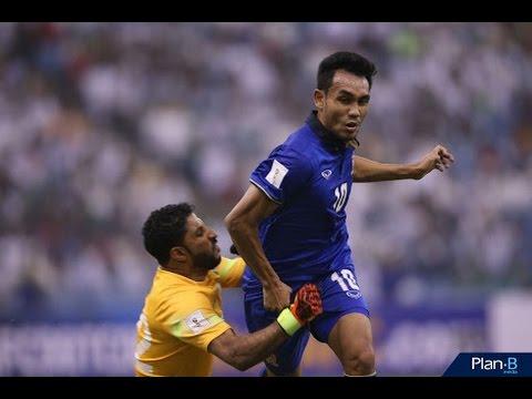Saudi Arabia 1-0 Thailand Asian  Russia 2018