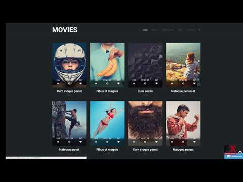 Movie Responsive Website Template TMT | Free Template  Vin Erick