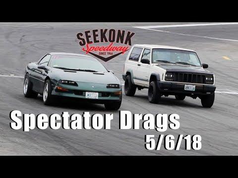 Seekonk Speedway Spectator Drags | 5/6/18