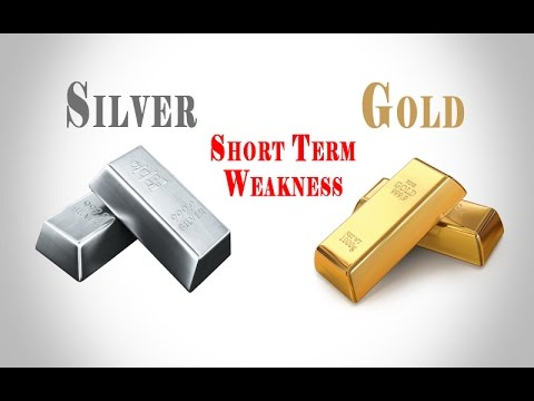 SHORT TERM WEAKNESS IN SILVER AND GOLD - LONG TERM BULLISH