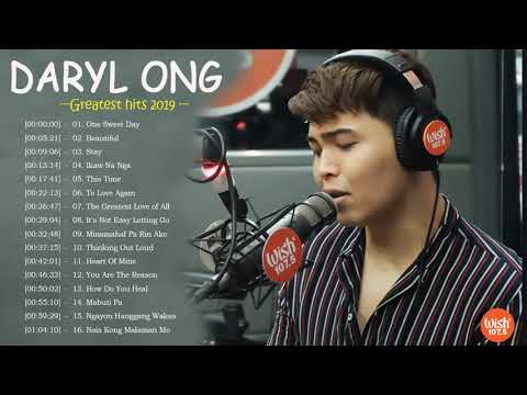 Daryl Ong Nonstop Love Songs - Daryl Ong Greatest Hits Full Playlist 2020