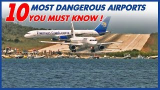 10 MOST DANGEROUS AIRPORTS  YOU MUST KNOW! thumbnail