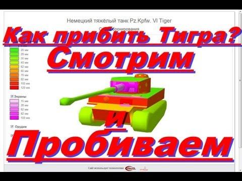 Схема брони танков в World of