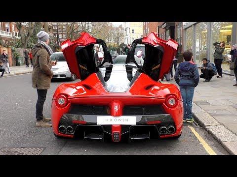$2Million, 963 HorsePower Ferrari LAFERRARI on the road in London!