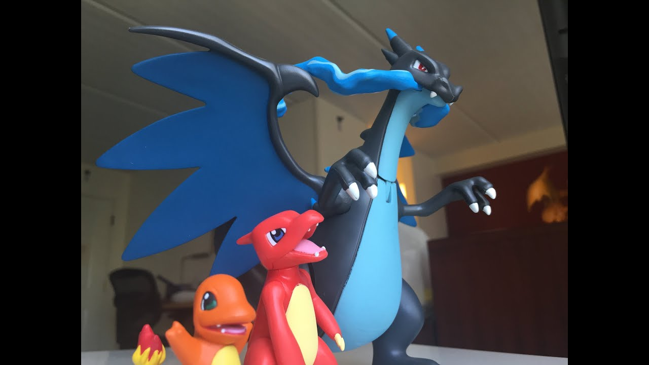 Pokemon mega charizard x evolution set review youtube - X evolution pokemon ...