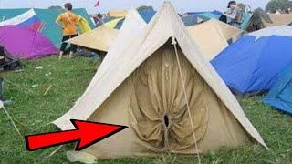 Caught on Camera Hilarious Camping Fails