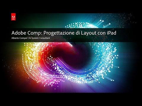 Adobe Comp: Progettazione di layout con iPad