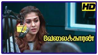 Velaikkaran Movie Scenes   Sivakarthikeyan convinces workers   Nayanthara supports Sivakarthikeyan