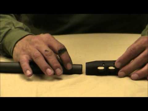 JP Enterprises Muzzle Brake Installation Review - YouTube