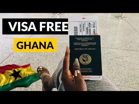 30 Visa Free Countries For Ghana Passport