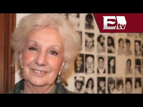 Activista argentina recupera a su nieto desaparecido durante última dictadura militar / Global