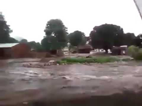 Floods in eastern Zambia and Malawi, Mangoche area near Lilo