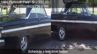 1964 Plymouth Fury SPORT for sale in Tempe, AZ 85283 at Scot