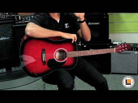 Denver Full Size Steel String Acoustic Guitar [Product Demonstration]