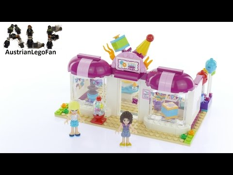 Lego Friends 41132 Heartlake Party Shop - Lego Speed Build Review
