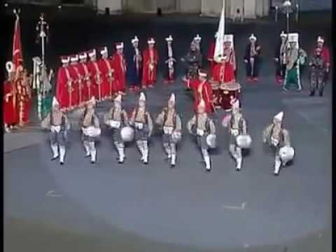 Ottoman military bands in ITALY (Mehter Takimi)