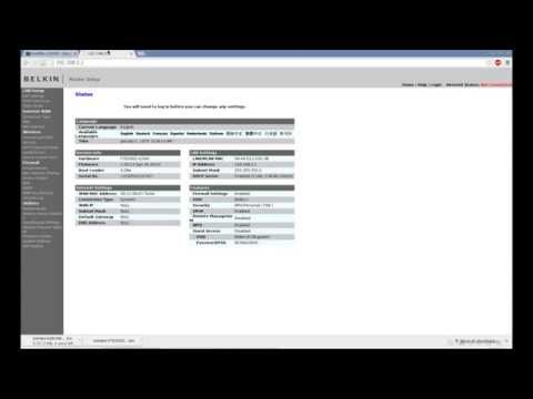 Tomato Firmware: Installing on Belkin Share from Stock  - YouTube