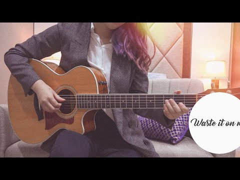 Steve Aoki- Waste It On Me Feat.BTS, Guitar Cover