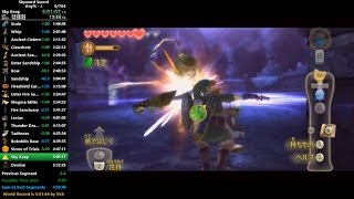 Skyward Sword Any% Speedrun in 5:08:02