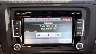 How To: Stream Bluetooth Audio with the VW Premium VIII Stereo
