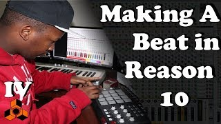 Making A Trap Beat (Brass) with Reason 10 | With MPD32 and Midi-Controller