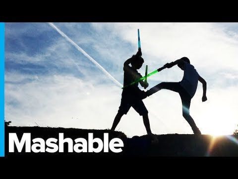 Erik Zachary - May The Force Be With You: Lightsaber Dueling Is Officially A Sport