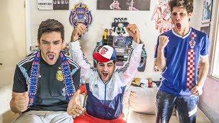 Francia 4 Croacia 2 | 2018 Mundial FINAL | Reacciones de Amigos