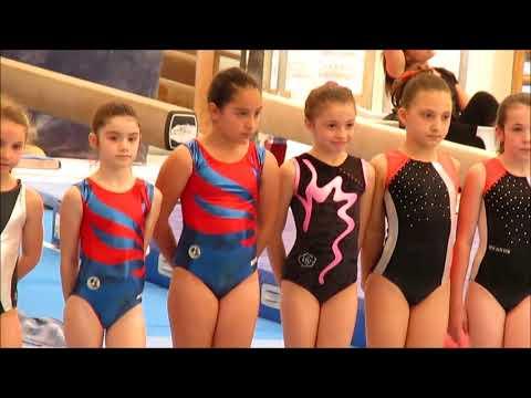 Ginnastics artistica Stella campionessa regionale civitavecchia 2018 ginnastica artistica