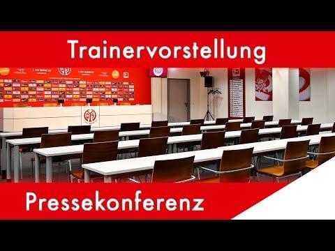 Pressekonferenz zur Trainervorstellung | 05er.tv | 1. FSV Mainz 05
