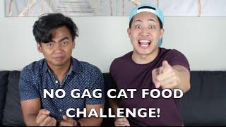 NO GAG CAT FOOD CHALLENGE! (w/ @RoiWassabi) | RedBatsu!