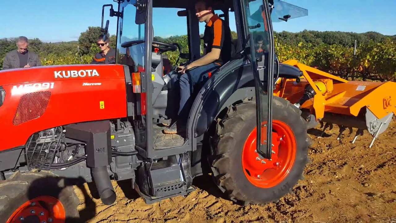 Kubota M5001 Finalista Best Specialized Tractor Of The Year 2018
