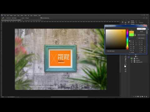 Creative Market Frame/Poster Mockup Freebie Walkthrough