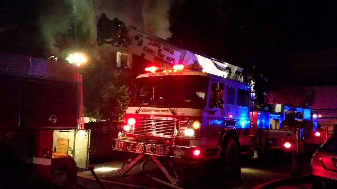 Kearny Nj 2nd Alarm House Fire 48 Garfield Ave 11 10 14 P 2 Youtube