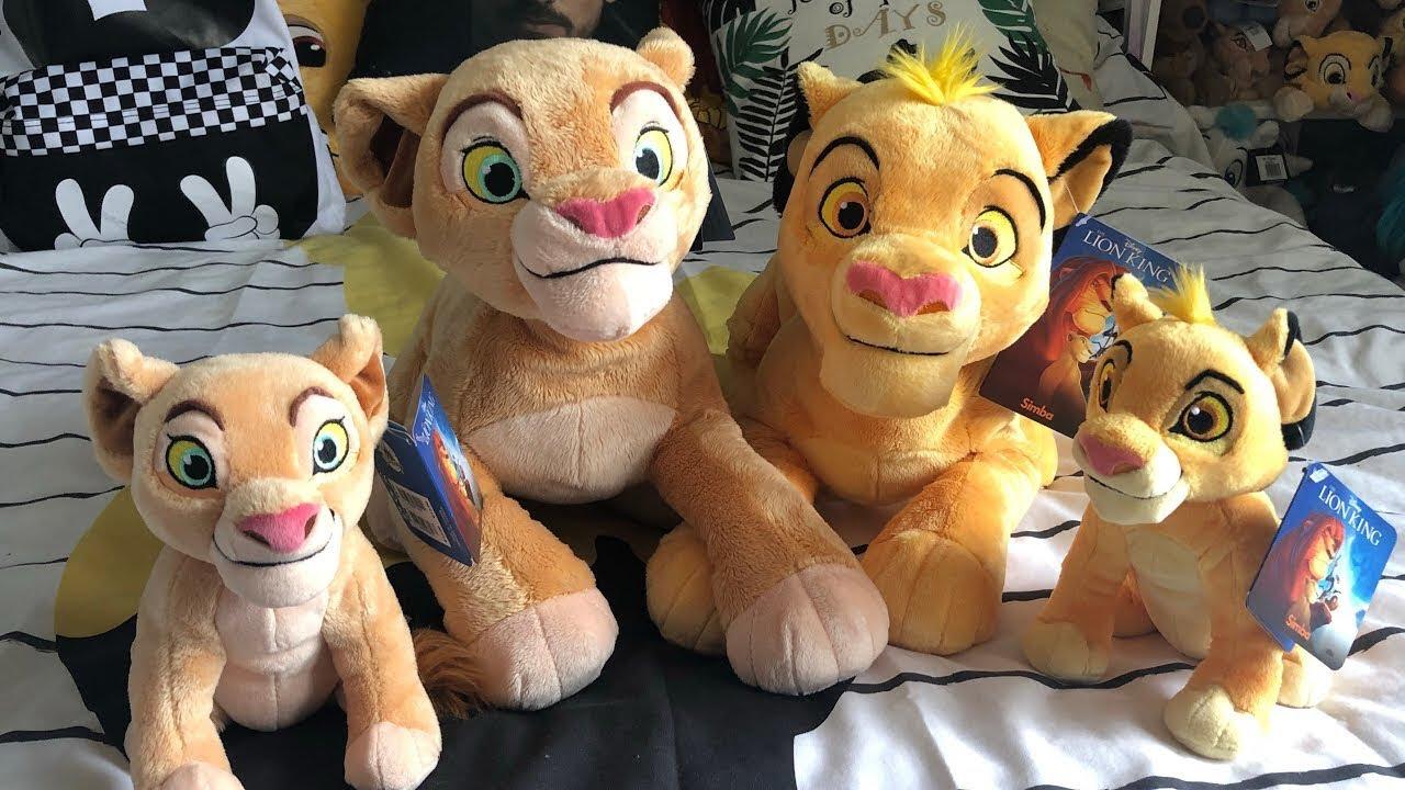 The Lion King New Disneystore Simba And Nala Plush 2019