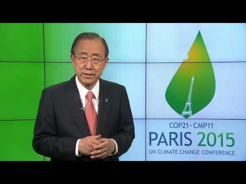 COP21 video message from Secretary-General Ban Ki-moon
