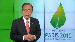 COP21 video message from Secretary-General Ban Ki-moon
