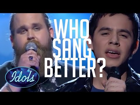 WHO SANG IT BETTER? American Idol VS Idols Sweden | Imagine John Lennon