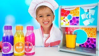 Download Vlad and Nikita Pretend Play Toy Cafe with Friends Mp3 and Videos