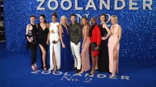 Stars Arrive On The Red Carpet For The London Premiere Of Zoolander
