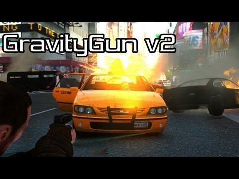 Gravity Gun v2 [GTA IV - Script Mod]