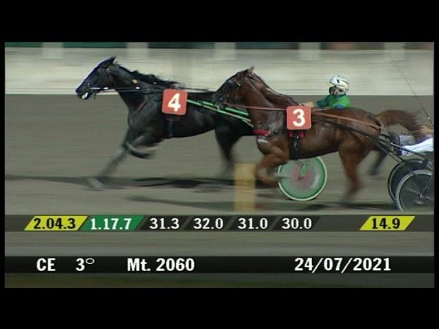 2021 07 24 | Corsa 3 | Metri 2060 | Premio Farmina
