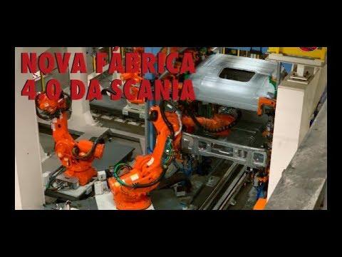 Nova Fábrica de Cabines Scania
